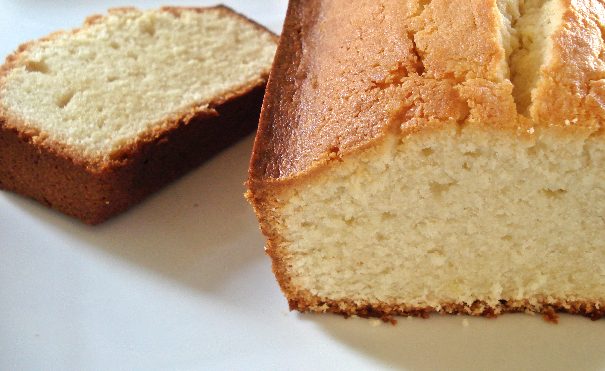 Cream Cheese Pound Cake – Adapted from Martha Stewart