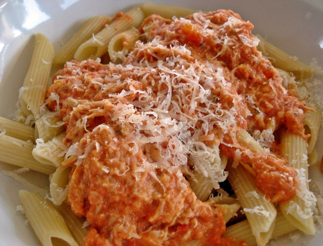 Chicken And Penne In Vodka Cream Sauce Recipes — Dishmaps