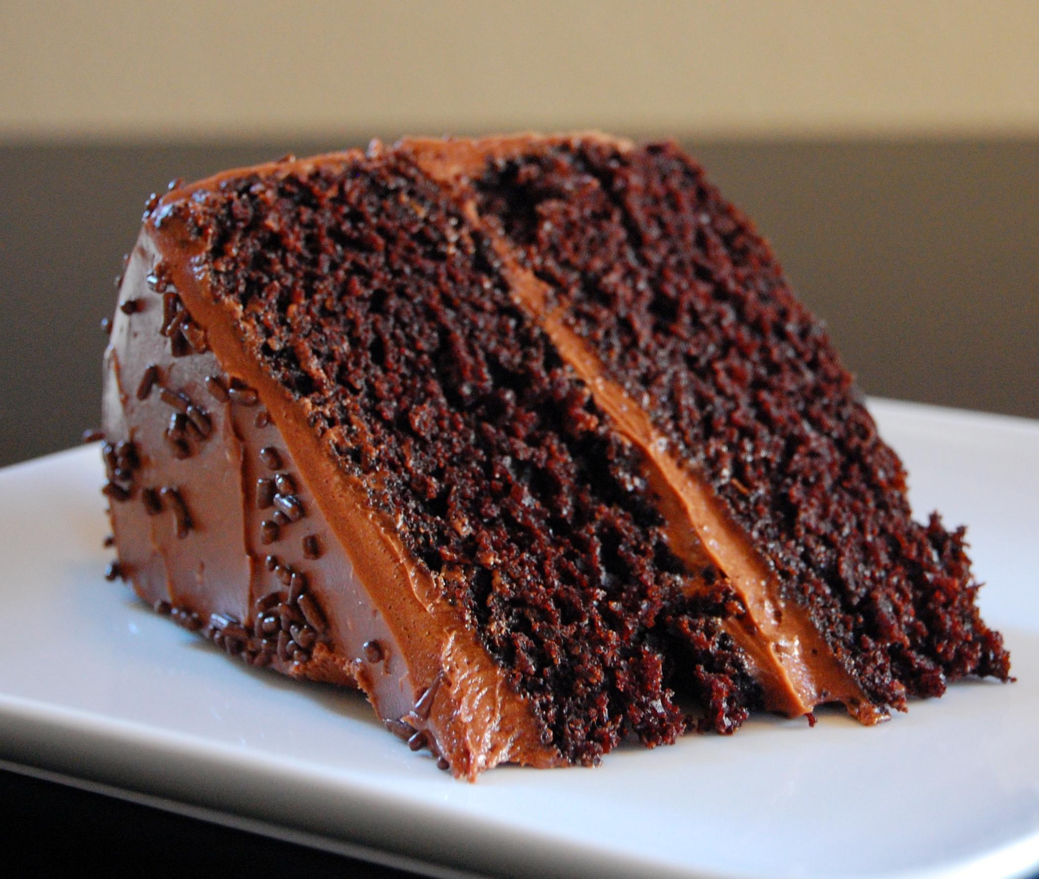 Double Chocolate Gateau Cake Recipe