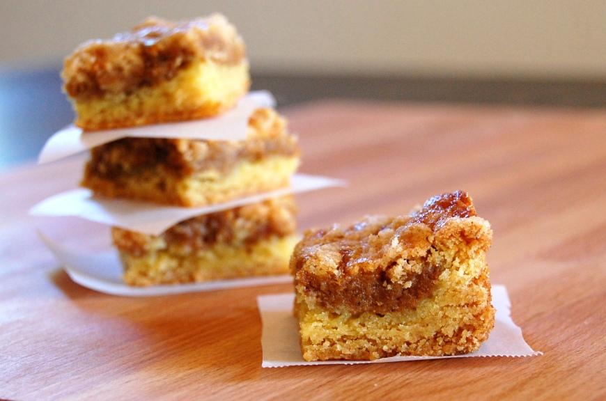 pumpkin dessert (or breakfast) squares